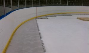 Cut to Rink Installation