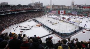 NHL Winter Classic upon ArmorDeck Ice