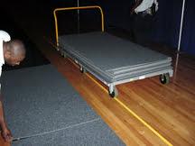 CarpetDeck transport cart