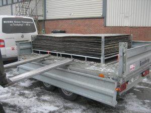 DuraDeck med stålpall