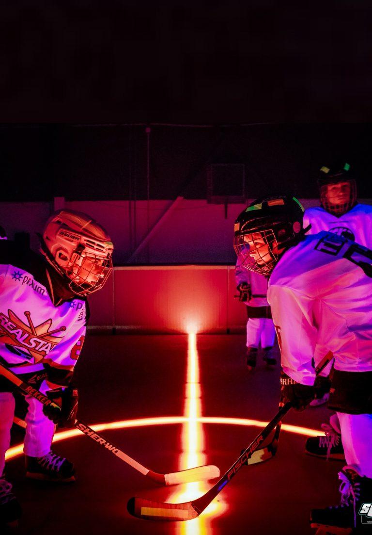 Bild 2 Hockeyschläger Neon