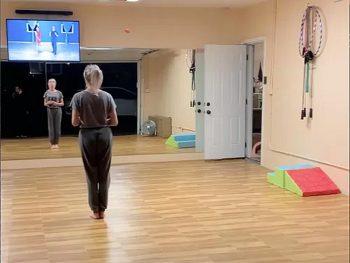 A dance floor for dancing studioes