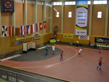 Det mobile landhockeygulvet er utviklet i nær dialog med ulike aktører innenfor idretten
